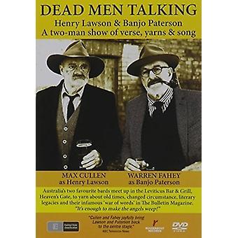 Dode mannen praten [DVD] USA import
