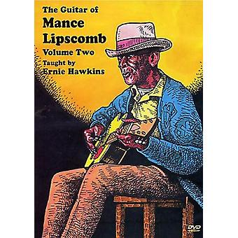 Ernie Hawkins - Ernie Hawkins: Vol. 2-Guitar of Mance Lipscomb [DVD] USA import