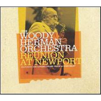 Woody Herman Orchestra - Reunion at Newport [CD] USA import