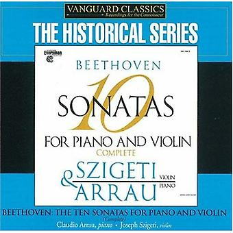 L.V. Beethoven - Beethoven: 10 Sonatas for Piano and Violin, Complete [CD] USA import