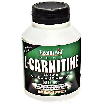 Health Aid L-Carnitine 30 Tablets (Diet , Supplements)
