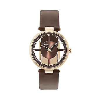 Kenneth Cole New York Damen Uhr Armbanduhr Leder KC15004003