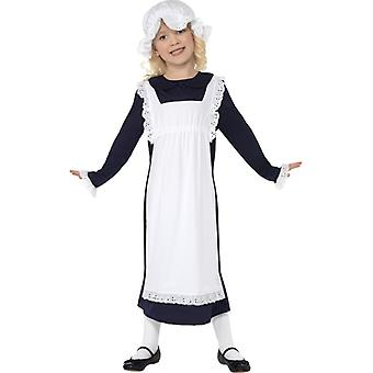 Victoriaans arme meisjes kostuum