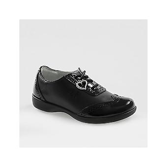 Lelli Kelly Lelli Kelly Kimberly Girls Lace Up School Shoes In Leather & Patent