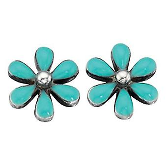 925 Silver Flower Earring