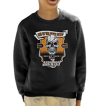 Tiger stigende Street Fighter børne Sweatshirt