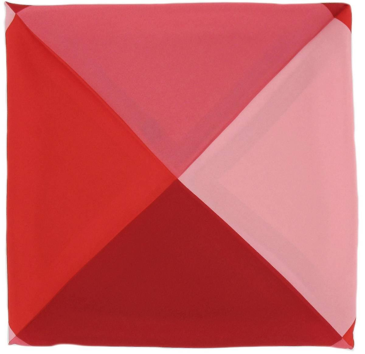 Michelsons of London Four Way Silk Handkerchief - Pink