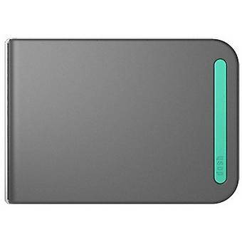 dosh RFID Aero Wallet - Grey/Shoal Green