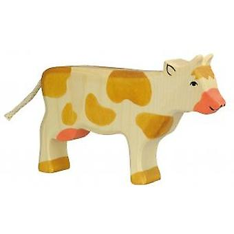 Goki Cow, standing, brown (Toys , Dolls And Accesories , Miniature Toys , Animals)