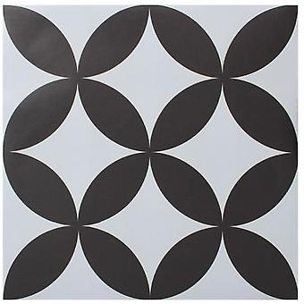 Superstudio Floor tile sticker pure circles hydraulic slab style