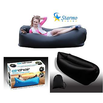 Starmo Inflatable Lounger Sofa Air Beds,Portable Chair,Air Mattresses Beds. Perfect For Lounging, Camping, Beach, Fishing, Kids, Chilling, Parties, Camping