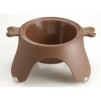 PetEgo Yoga Pet Bowl Brown