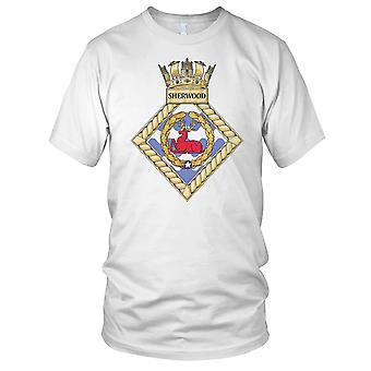 Royal Navy HMS Sherwood dames T Shirt