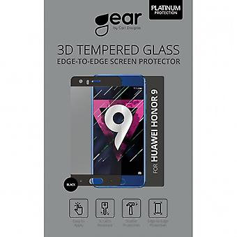 GEAR tempered glass 3D Huawei Honor 9 Edge-to-Edge Black