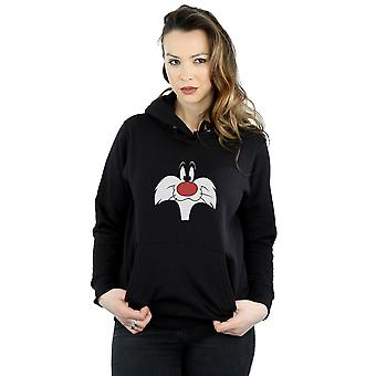Looney Tunes Women's Sylvester Big Face Hoodie
