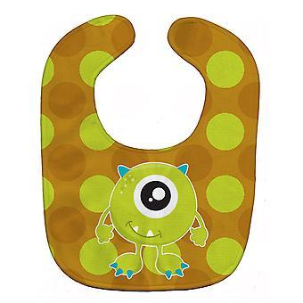 Каролинских сокровища BB8846BIB монстр зеленый ребенок нагрудник