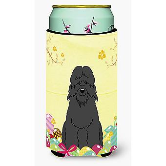 Easter Eggs Bouvier des Flandres Tall Boy Beverage Insulator Hugger