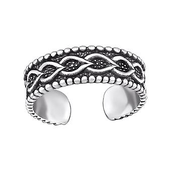 Chain - 925 Sterling Silver Toe Rings - W29426x