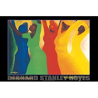 Grazie e loda la stampa di Poster di Bernard Stanley Hoyes (36x24)