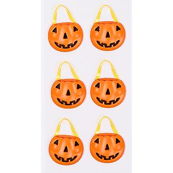 Little B Mini Stickers-Pumpkin Baskets LBMINI-2221