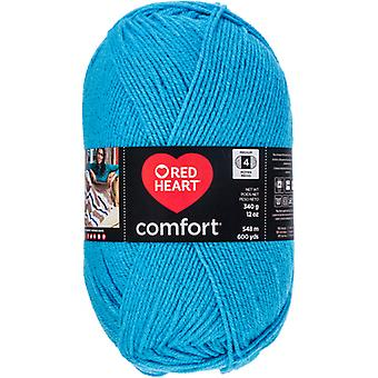 Red Heart Comfort Yarn-Turquoise Shimmer E707D-5007