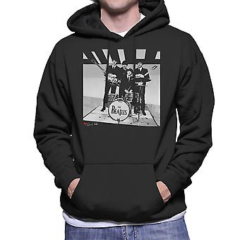 The Beatles Thank Your Lucky Stars Birmingham 1963 Men's Hooded Sweatshirt