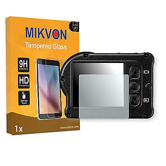 Nikon KeyMission 170 Screen Protector - Mikvon flexible Tempered Glass 9H (Retail Package with accessories)