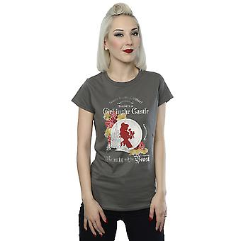 Disney Women's Beauty And The Beast Girl In The Castle T-Shirt