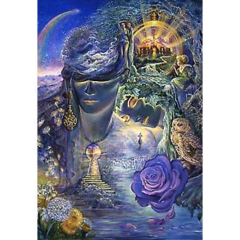 Key To Eternity Poster Print by Josephine Wall (24 x 36)