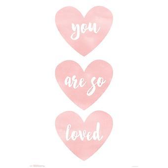 Du bist So geliebt Poster drucken