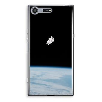 Sony Xperia XZ Premium Transparent Case - Alone in Space