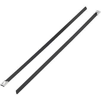 Cable tie 362 mm Black Coated KSS 1091215