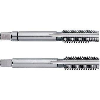 Hand tap set 2-piece metric (precision) Mf32 1.5 mm Right hand cutting Exact 00601 N/A HSS 1 Set