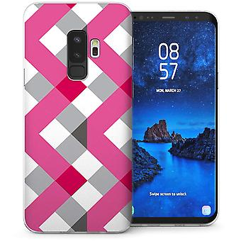 Samsung Galaxy S9 Plus digitale Streifen TPU Gel Case – Pink