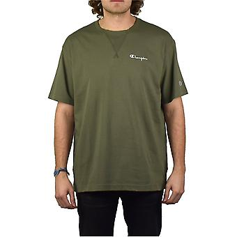 Champion Deconstructed T-Shirt (Olive)