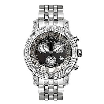 Joe Rodeo diamond men's watch - 2000 silver 1.5 ctw