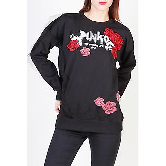 Pinko Women Sweatshirts Black
