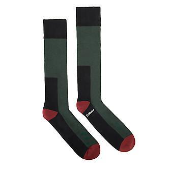 Dr. Martens Green, Cherry & Navy Doc's Socks