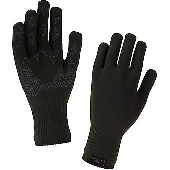 SealSkinz Ultra Grip gant - Hi-Viz jaune