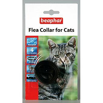 Beaphar Cat Flea Collar, Plastic Collar Black - Valentina Valentti UK