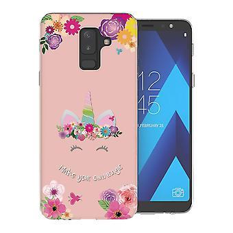 Samsung A6 Plus (2018) gör din egen magiska TPU Gel Case