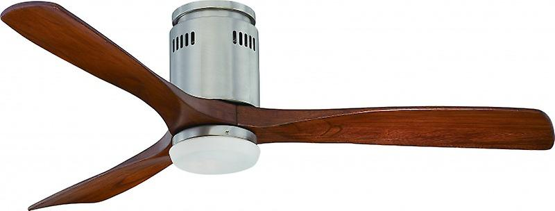Ventilateur de plafond éconergétique Zeta noyer avec LED