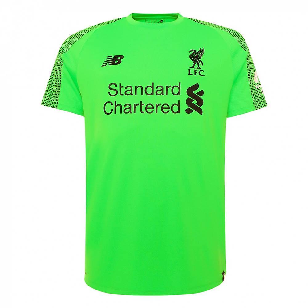 2018-2019 Liverpool Away Goalkeeper Mini Kit