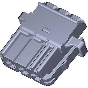 TE Connectivity Socket enclosure - cable MCP Total number of pins 3 1-968976-9 1 pc(s)