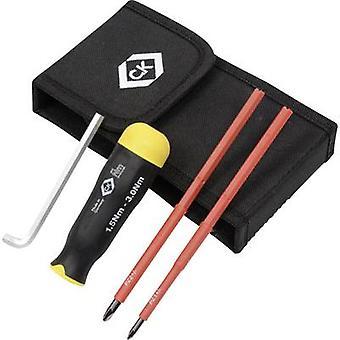 VDE Torque screwdriver set 3-piece C.K. 1.5 - 3 Nm