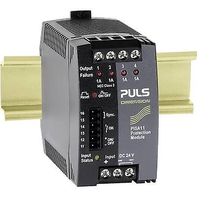PULS DIPour des hommesION PISA11.401 Overvoltage overcurrent prougeector 24 Vdc 1 A 4 x