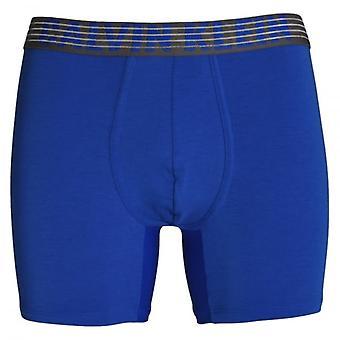 Calvin Klein Performance Tech transpirable Boxer Brief, Muscari azul, X-grande