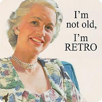 Yo no soy viejo, soy Retro bebidas divertidas solo montaña