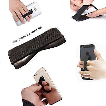 ONX3 (Black) Universal Anti-Slip Elastic Finger Mobile Phone Grip Holder For  Lg G7 Thinq