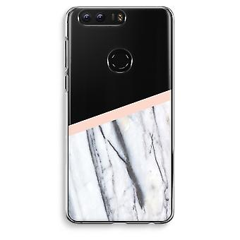 Honor 8 Transparent Case (Soft) - A touch of peach